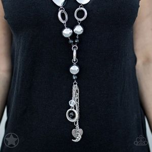 Long Charm Necklace With 2 Inch Extender Clasp